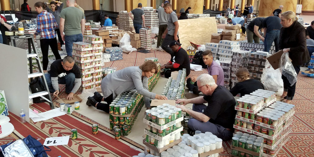 MVA Team | Canstruction 2017