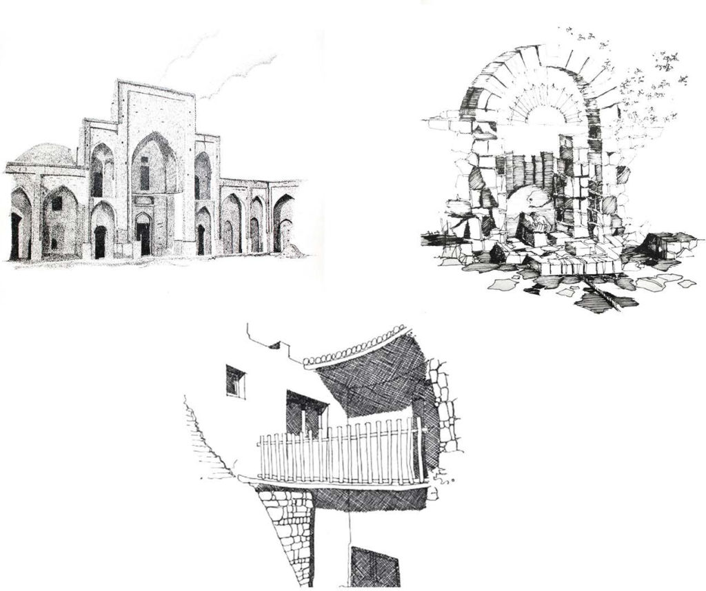 Sketches from Iran