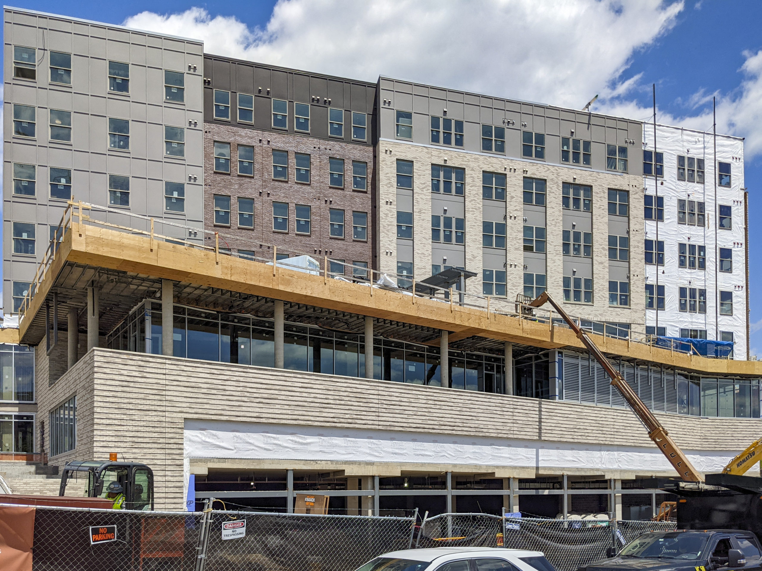 Crossroads at Towson Row Under Construction